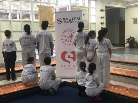 Taekwondo bygger självtroende i Sarajevo