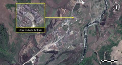 Nordkorea: Nya satellitbilder avslöjar fånglägrens utbredning