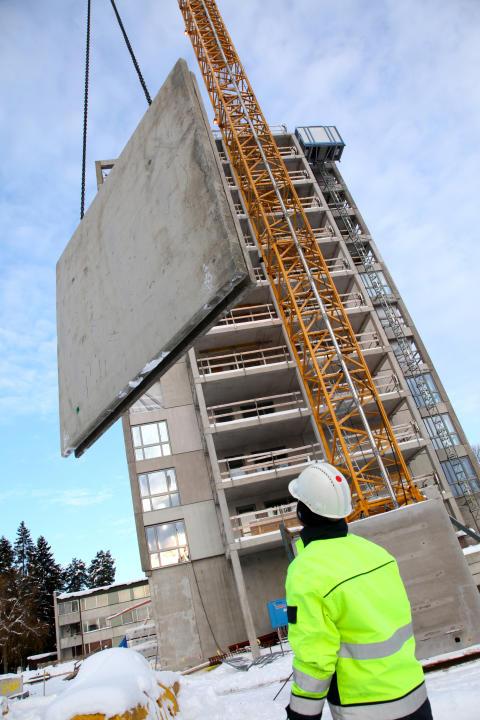 Prefabricerade betongelement