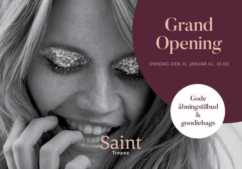 Grand Opening i Saint Tropez i Lyngby Storcenter