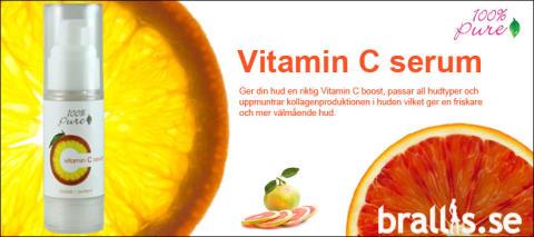 Naturligt & ekologiskt vitamin C serum