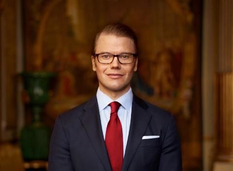 H.K.H. Prins Daniel  (Foto: Mattias Edwall Copyright Kungahuset.se)