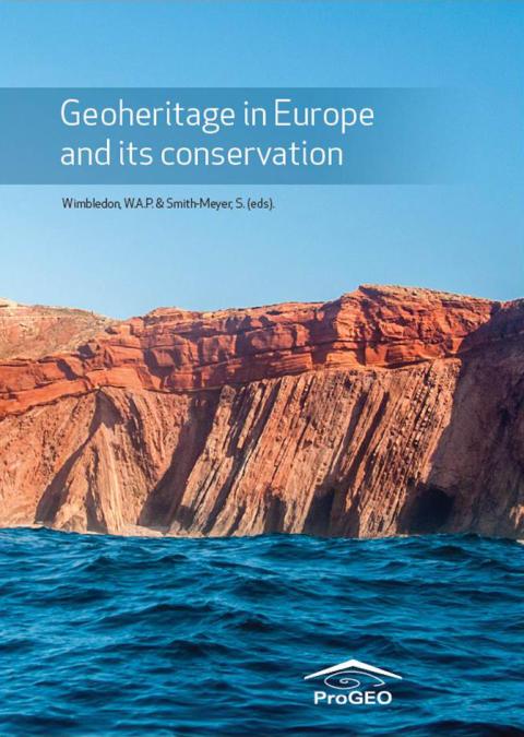 Ny bok om geologisk naturvård i Europa