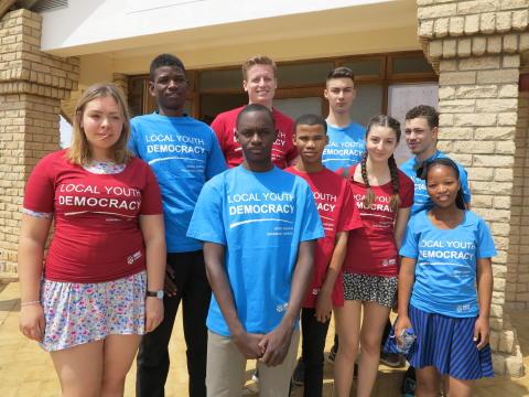 Unga från Namibia besöker Hörby - Hörby kommun