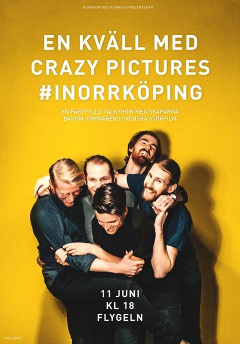 Pressinbjudan: Välkommen till filmkväll med Crazy Pictures!