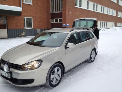 Ordinarie akutbil på plats i Åsele