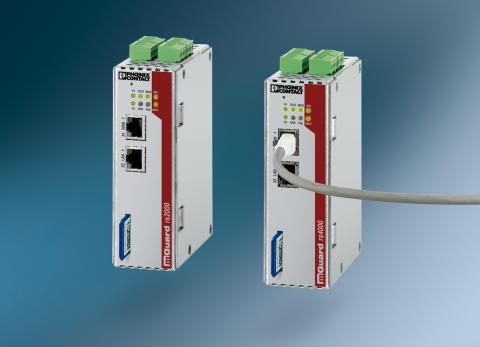 Firewall og router til beskyttelse af maskinnetværk