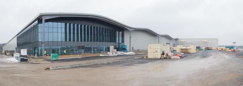Hitachi Rail Vehicle Manufacturing Facility in Newton Aycliffe