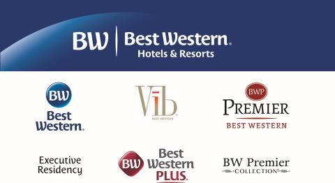 Best Western lanserar nya logotyper