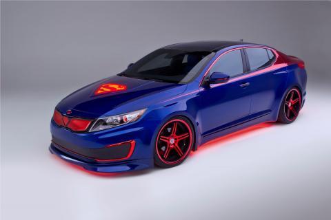 Kia Optima Hybrid, Superman