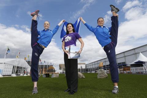 Flying the flag for Scotland