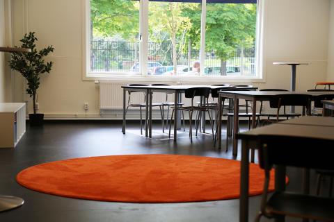 Klassrum på Erlaskolan Södra