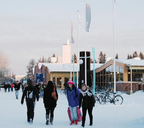 Luleå tekniska universitet på grön kvist