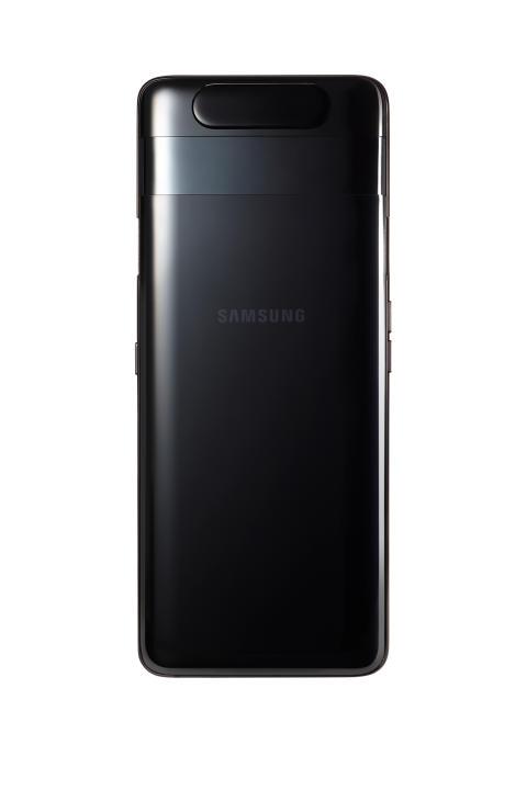 Galaxy A80_Phantom_Black_back_no_camera