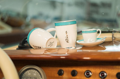 Villeroy & Boch has developed an exclusive design for the legendary Riva Boatyard