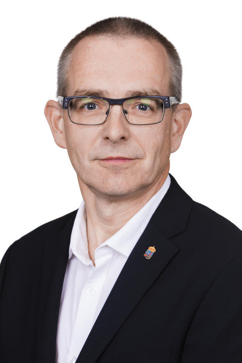 Lenny Lämber, chef för avdelningen för verksamhetsstöd