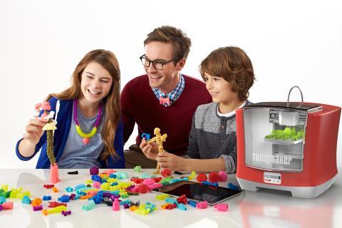 Mattel ThingMaker - der 3D Drucker für die Spielzeugproduktion zuhause