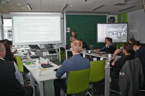 """Workshop """"Innovationsprozesse und Innovationsmethoden""""  am 12. März 2015"""