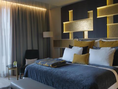 THE THIEF hotel room photo by Studio Dreyer Hensley