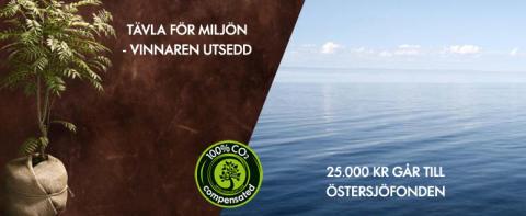 Classic kaffes konsumenttävling gav 25 000 till Östersjöfonden