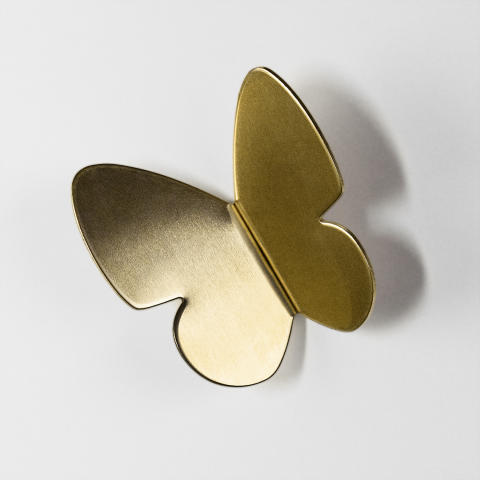 Superfront Handle Butterfly Brass