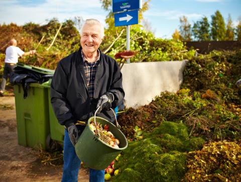 Lämna din fallfrukt så den blir biogas