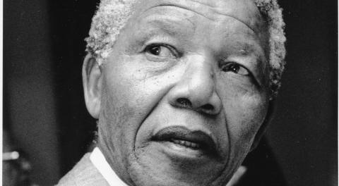Ord och ton i hoppets tecken - till minne av Nelson Mandela