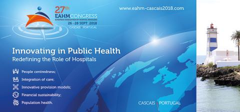 Newsletter KW 27: 27. EAHM-Congress vom 26. bis 28. September 2018 in Cascais, Portugal