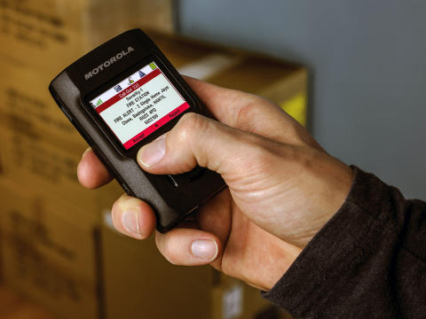Två-vägspersonsökare för RAKEL/TETRA från Motorola Solutions