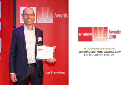IKC Avkastningsfond - vinnare vid Morningstar Fund Awards 2019