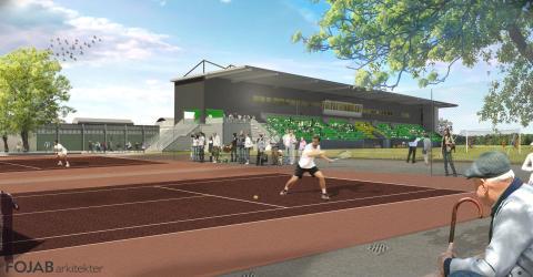 Kristianstads kommun bygger Idrottsområde Söder med hybridgräsplan för elitfotboll