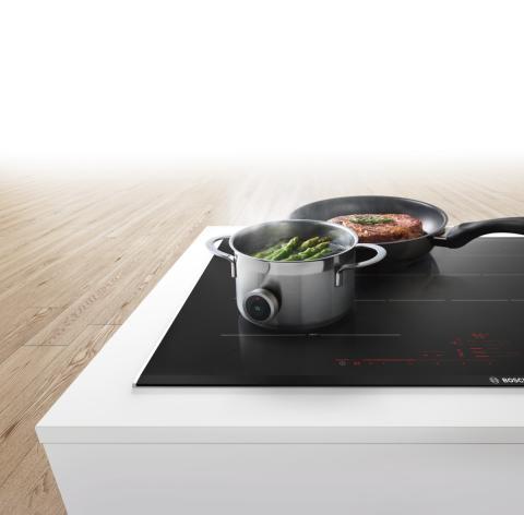 Sensorteknik i induktionshällar gör det lätt att lyckas i köket