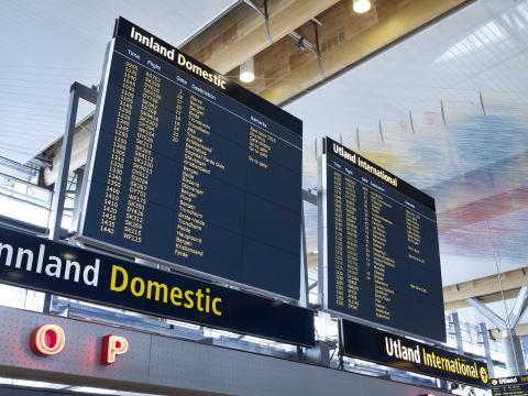 Rekord på Oslo Lufthavn