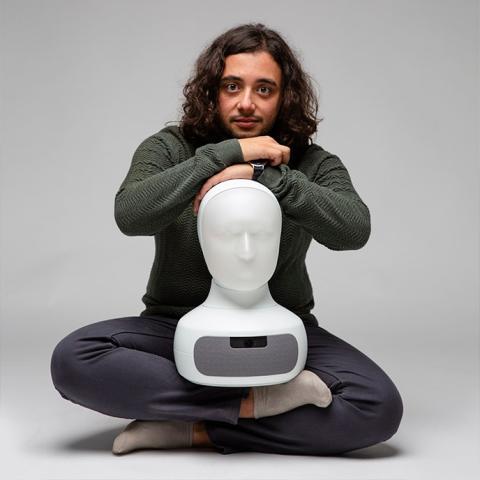 Samer Al Moubayed , CEO Furhat Robotics