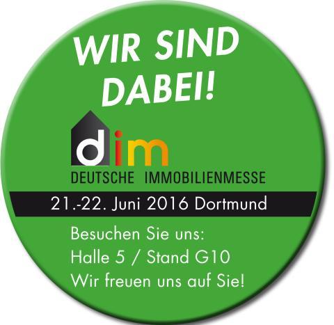 Das WohnGold-Magazin präsentiert sich zum ersten Mal auf der Deutschen Immobilienmesse