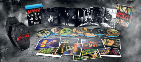 UNIVERSAL CLASSIC MONSTERS – THE ESSENTIAL COLLECTION på Blu-ray 10 oktober