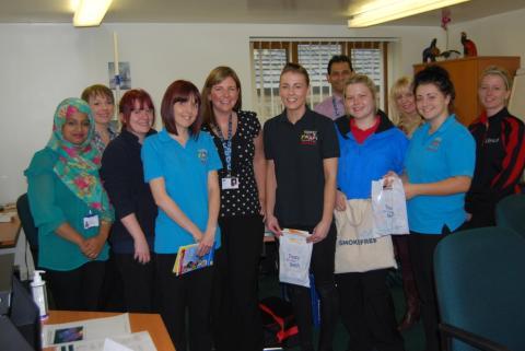 Nursery Staff Given Health Training
