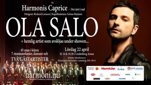 Ola Salo gästartist på Harmonis Caprice 2017