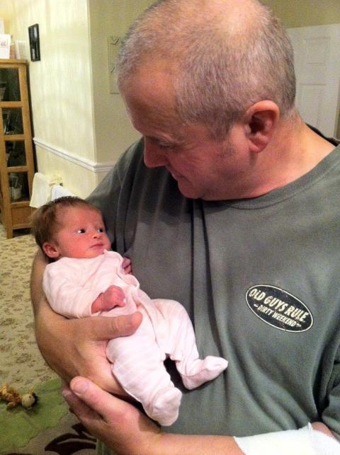 Grandad's mission to raise over £2,000 for The Sick Children's Trust