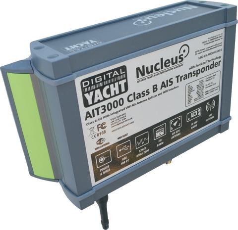 AIT3000 Nucleus Class B Transponder lauches at the Southampton Boatshow