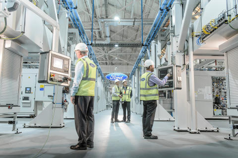 New LED lighting at Dagenham will further help reduce energy consumption