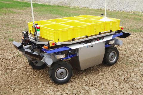 浜松市での農業用UGV(無人走行車両)の走行試験開始について