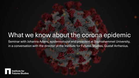 Epidemiolog svarar på frågor om corona - webbinarium idag!