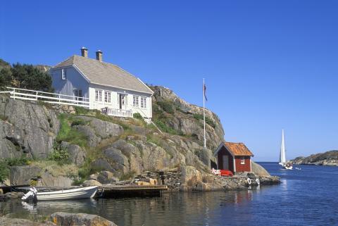 Markedet for salg av hytter ved sjøen er igang