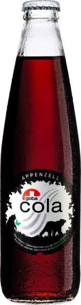 Goba Cola, den första produkten sötad med Granulars steviaextrakt, gör storslagen entré i Schweiz