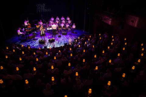 Majken Christiansen og Marinemusikkens Storband, 18.08.17, Oslo Jazzfestival