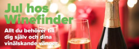 Winefinder förenklar julhandeln med fri frakt på allt!