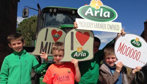 ​Record number of Arla farmer owners opening their gates for Open Farm Sunday