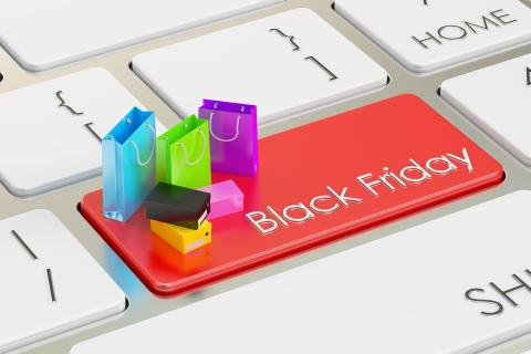 Säljer fyra produkter per sekund under Black Friday