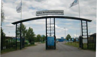 Tekniska verken får förnyat förtroende att driva Vika återvinningscentral